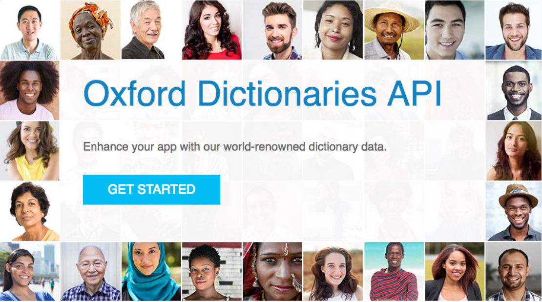 Oxford Dictionaries API